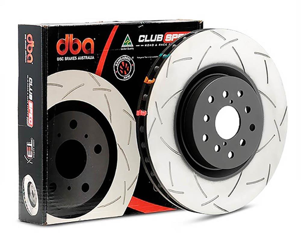 DBA 42809S 4000 T3 Slot brake rotor Audi S3/RS3, VW Golf VI/VII R, Golf V  R32, Scirocco, Octavia RS 310 mm (rear)