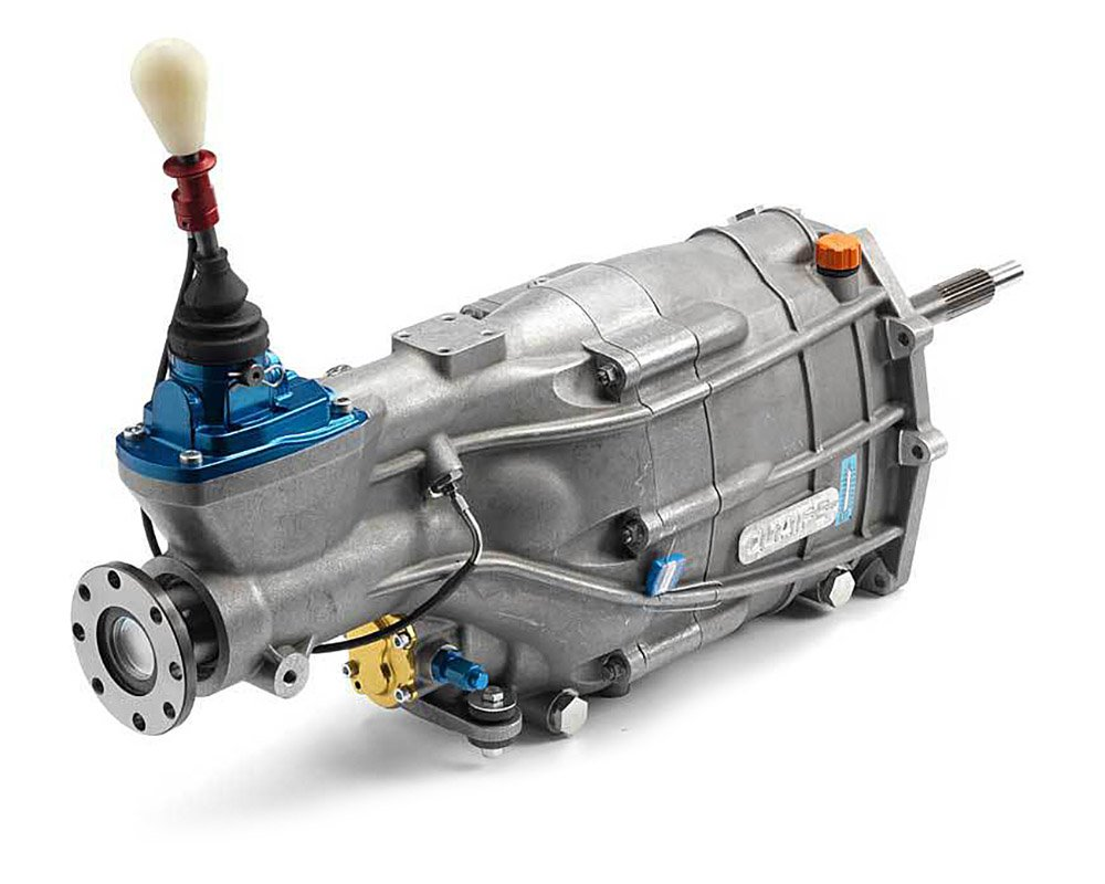 Quaife QBE69G 6-speed heavy duty in-line RWD sequential straight-cut gearbox