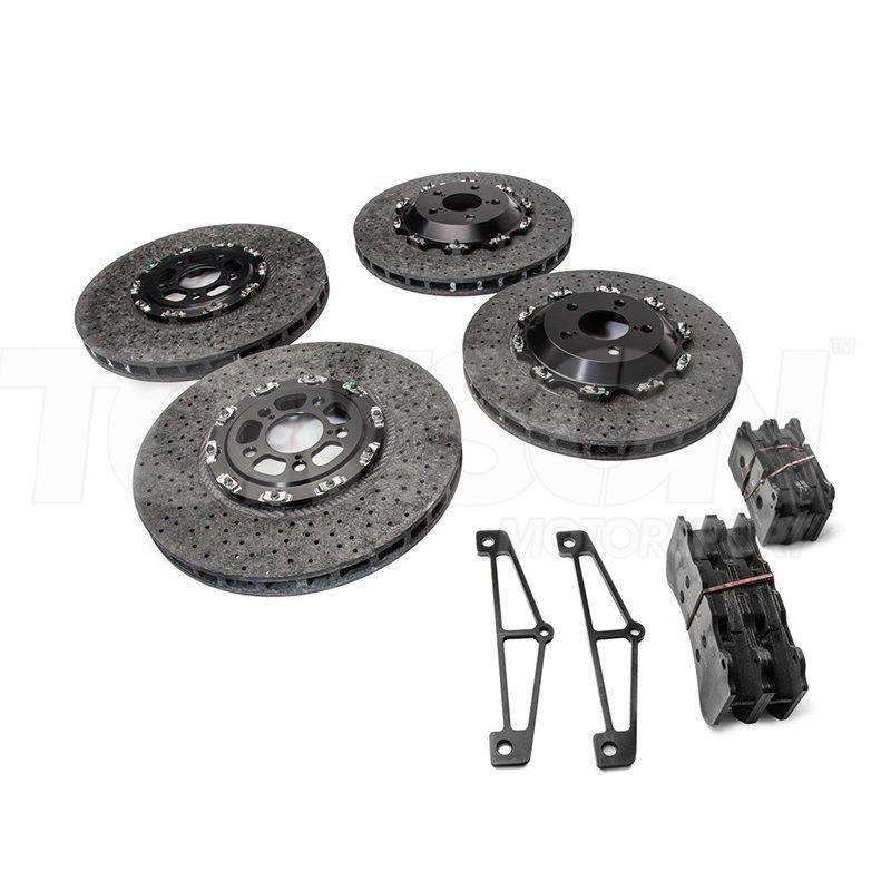 Brembo Carbon Ceramic Brake Kit Nissan Gt R R35 Brakes