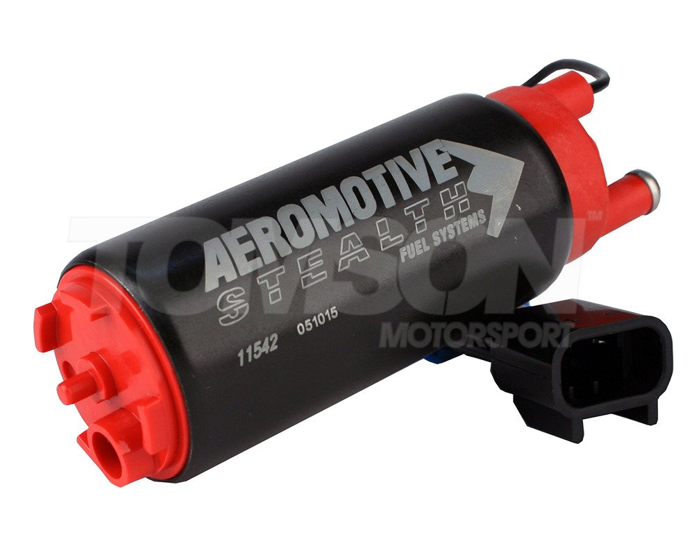 Aeromotive Offset Inlet 340 Stealth In Tank Fuel Pump Inline Race // Rally