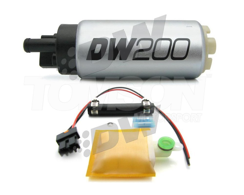 Deatschwerks 9-201-0846 DW200 Series 255lph Fuel Pump Install Kit Civic Integra