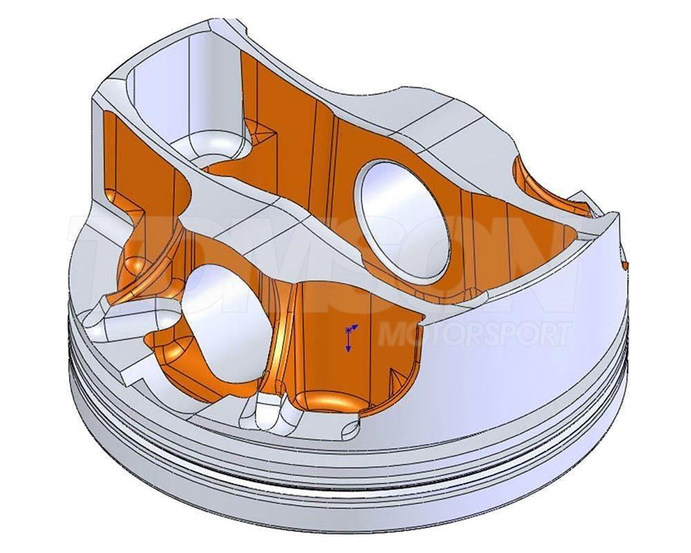 Je Pistons Forged Pistons Bmw E46 M3 S54b32 3 2l 24v 87 50