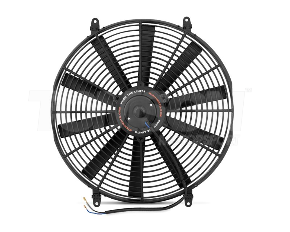 Blue Mishimoto MMFAN-12BL Slim Electric 12 Fan