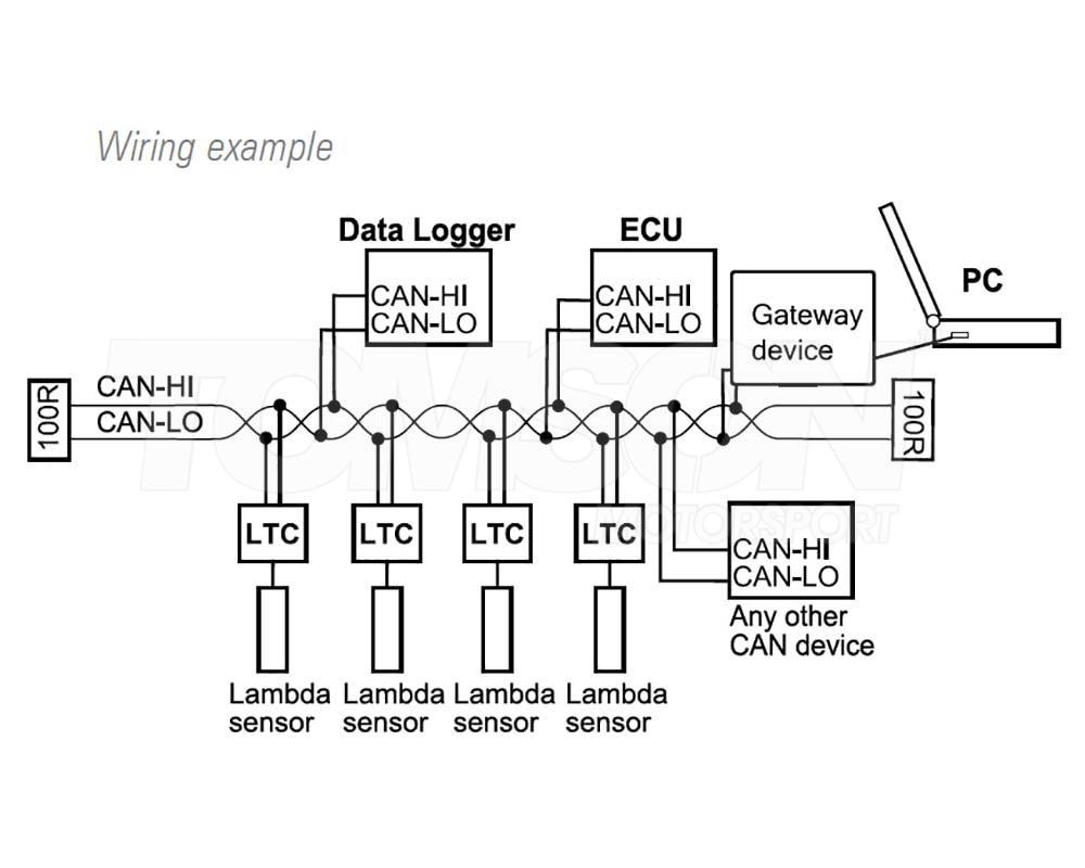 Brilliant Motec 61300 Bosch Lsu 4 9 Lambda To Can Ltc Modules Monitor Short Wiring Database Numdin4X4Andersnl