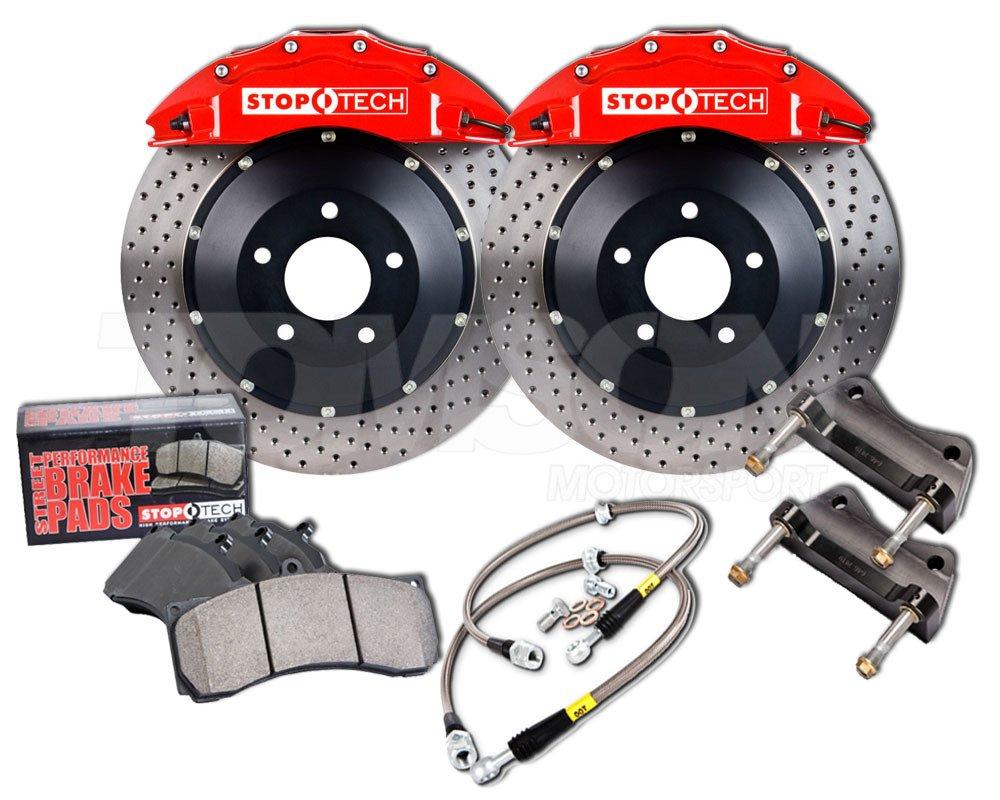 Stoptech 83 118 4700 Big Brake Kit Audi Tt 3 2 Mkii 355 Mm Front Brakes Big Brake Kit