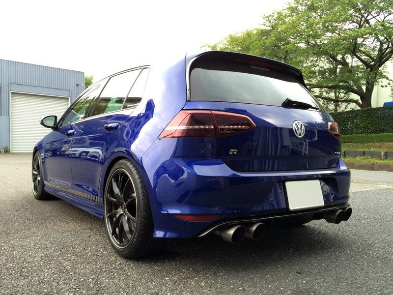 vwr racingline vwr21g70rvres valved resonated cat back exhaust vw golf vii r exhaust system. Black Bedroom Furniture Sets. Home Design Ideas