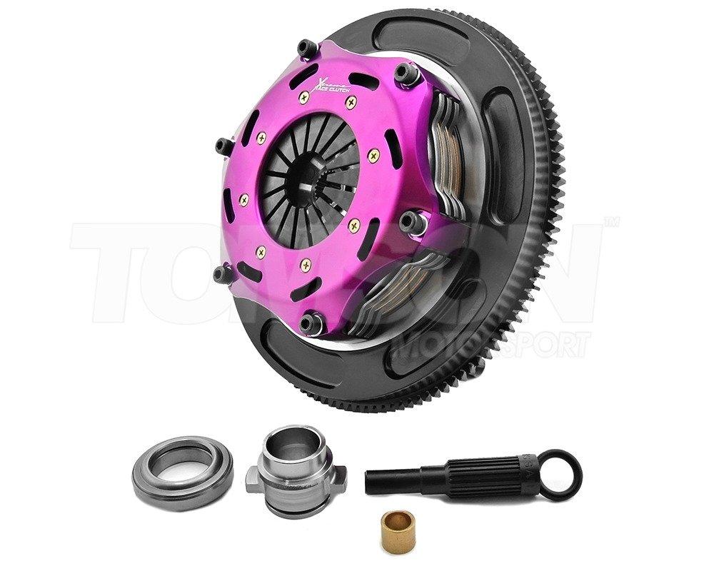 Xtreme Kbm18530 2e 184mm Rigid Ceramic Twin Plate Clutch Kit With Flywheel Bmw M3 Z3 E36 S50