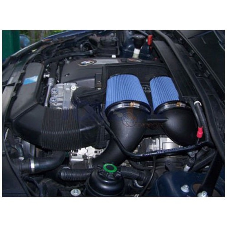 aFe Power 54-11473 Magnum FORCE Pro 5R Stage-2 Intake System with scoop BMW 135i E80,E82, E87, 335i E90, E91, E92, E92 (N54)