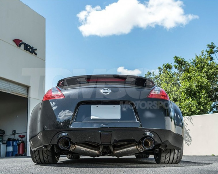 ARK Performance SM0901-0309G GRiP cat back exhaust system Nissan 370Z VQ37VHR (Tecno tips)