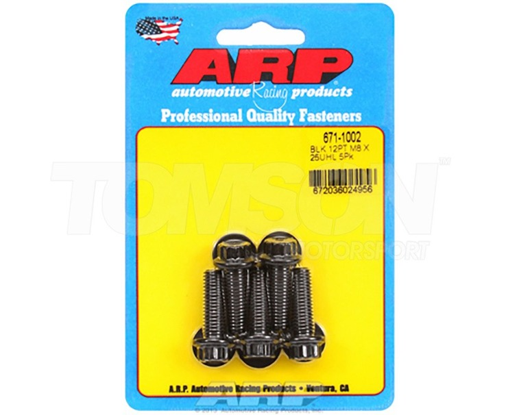 ARP 664-1009 bolts M12x1.50 lenght 80 mm (5 pack)