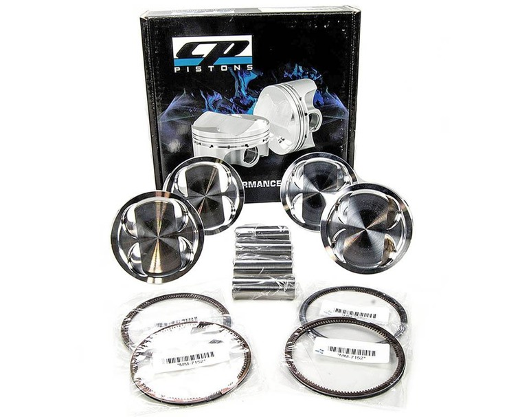 CP Pistons SC7220 forged pistons Mitsubishi Lancer Evo X 4B11T 86.00 mm CR 9.0:1