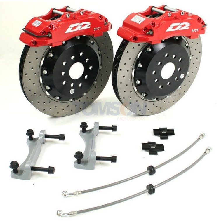 D2 Racing Sport big brake kit 356 mm 8-pot BMW 1 E81, E87 (front)