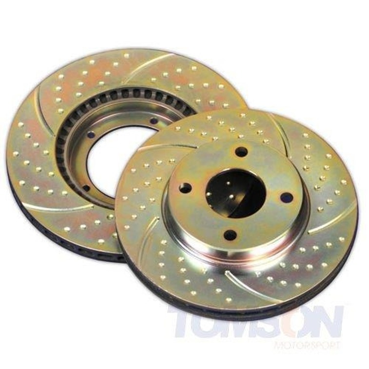 EBC GD1196 brake discs Turbo Groove Mazda 6 2003-2005 (front)