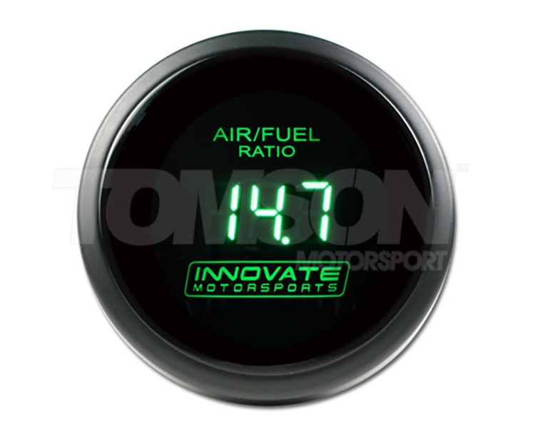 Innovate 3872 gauge for LC-2 LC-1, LC-2, LM-1 or LM-2 controllers (green display)