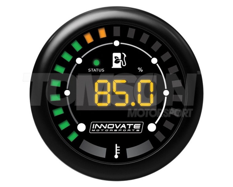 Innovate 3904 MTX-D digital ethanol content % and fuel temp gauge kit (with ethanol content sensor)