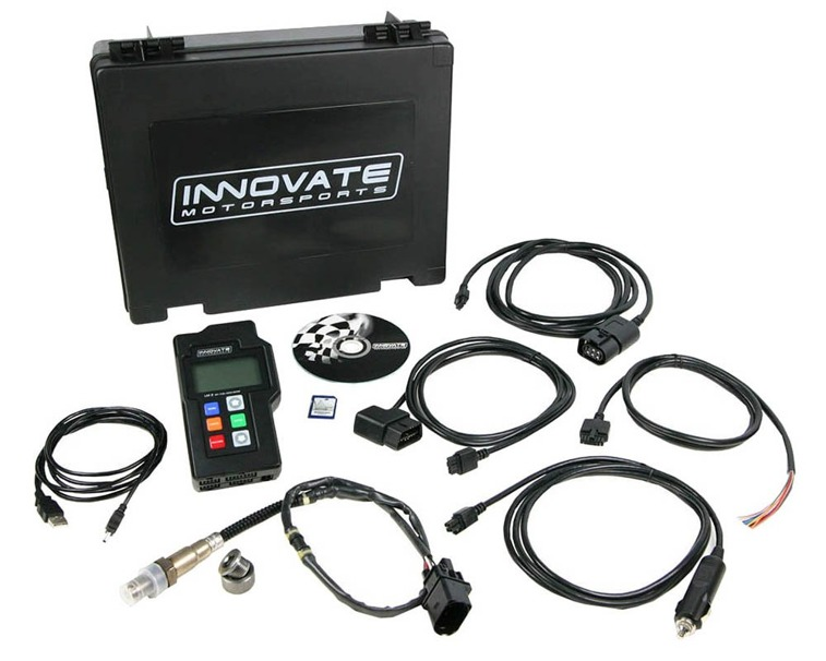 Innovate LM-2 Digital Air/Fuel (Single Channel O2) Ratio Meter & OBD-II/CAN Scan Tool Dual Wideband O2