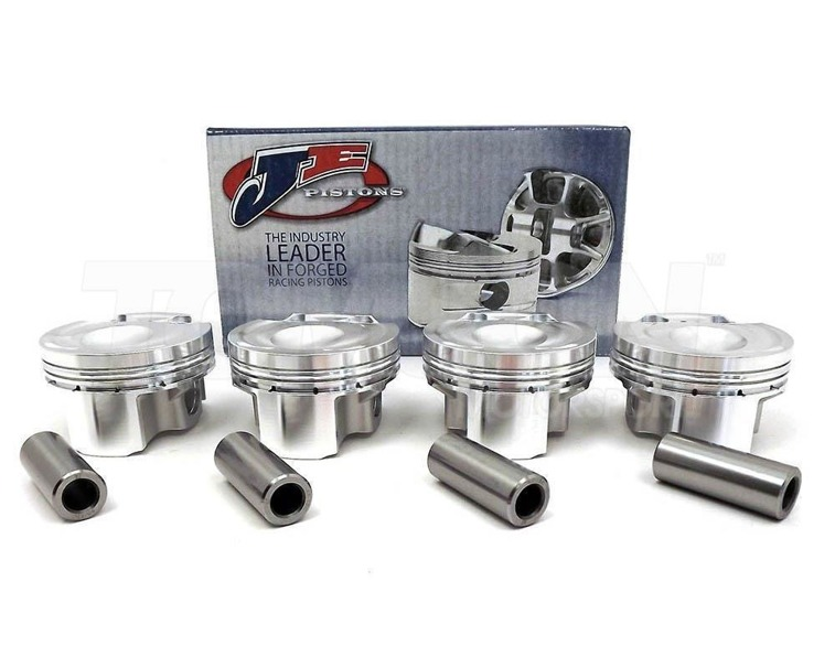 JE Pistons 296904 forged pistons Mitsubishi Lancer Evo X 4B11T CR 9.0:1