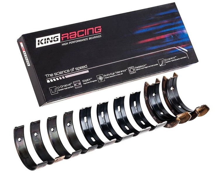 King Racing MB5382XPG main bearings Subaru Impreza WRX, STi, Forester, Legacy EJ20/EJ25 +0,000 mm