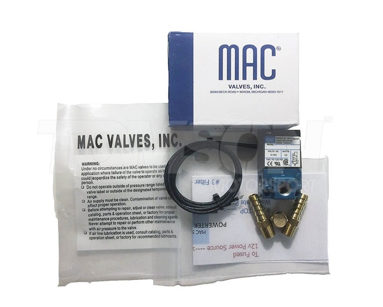 Mac Valves Electronic Boost Control Solenoid turbo valve