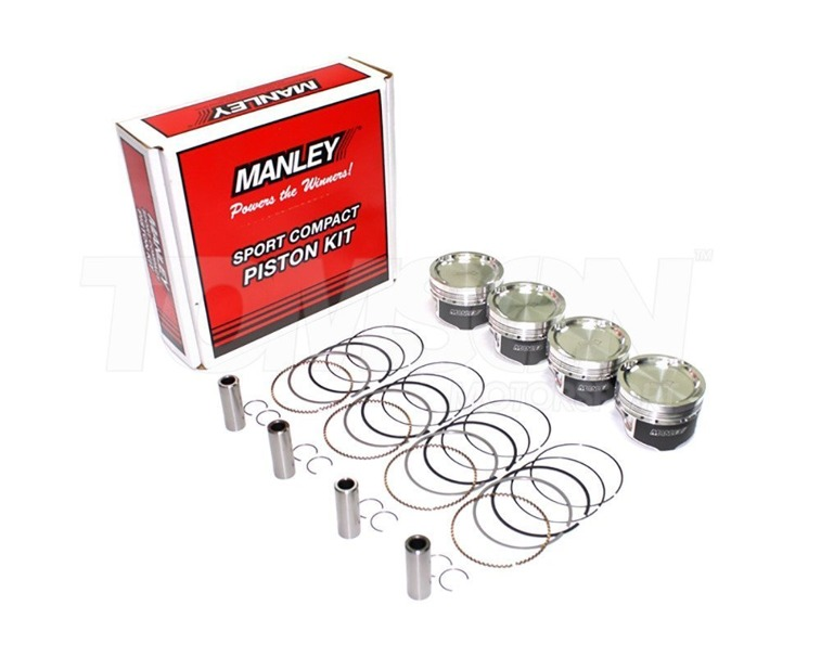 Manley 609000CE-6 Heavy Duty forged pistons Toyota Supra, Chaser, Aristo, Soarer, Lexus IS300, SC300, GS300 2JZ-GTE 86.00 mm CR 9.0:1