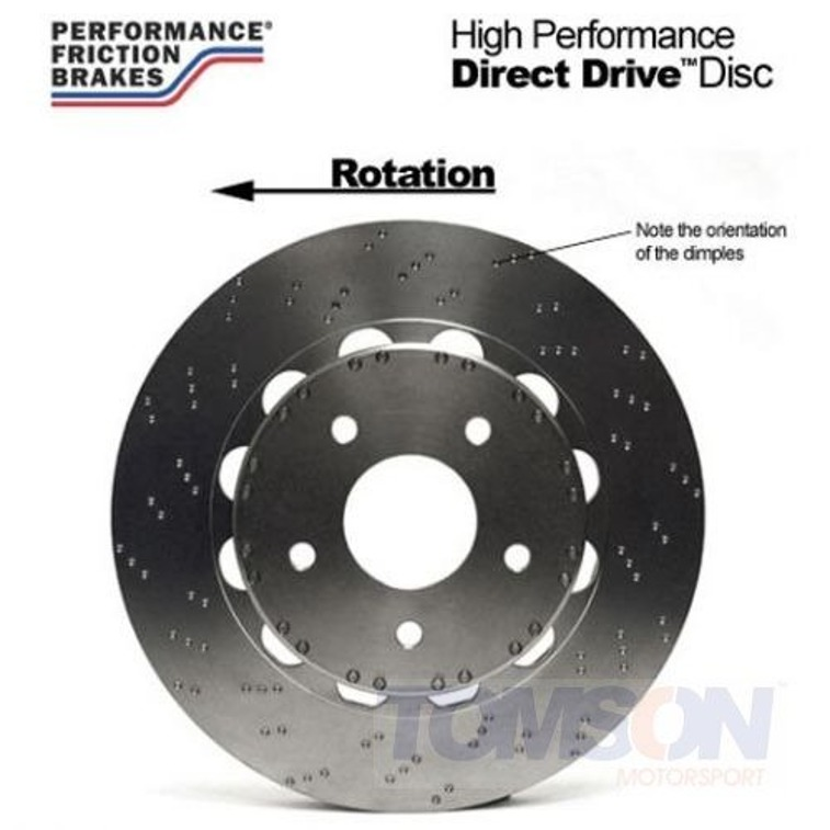 Performance Friction 319.044.64 Direct Drive V3 Two-piece floating brake disc Mitsubishi Lancer Evo IV, V, VI, VII, VIII, IX 4G63T 319 mm (front right)