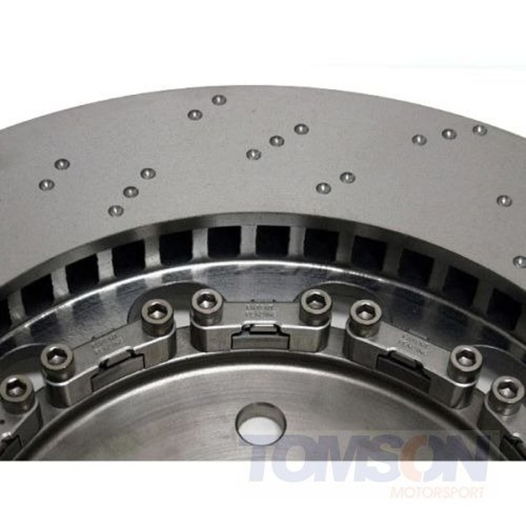 Performance Friction 322.053.63 Direct Drive V3 Two-piece floating brake disc BMW M3 E46 S54B32 322 mm (front left)