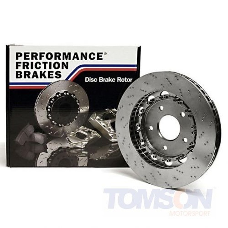 Performance Friction 322.053.64 Direct Drive V3 Two-piece floating brake disc BMW M3 E46 S54B32 322 mm (front right)