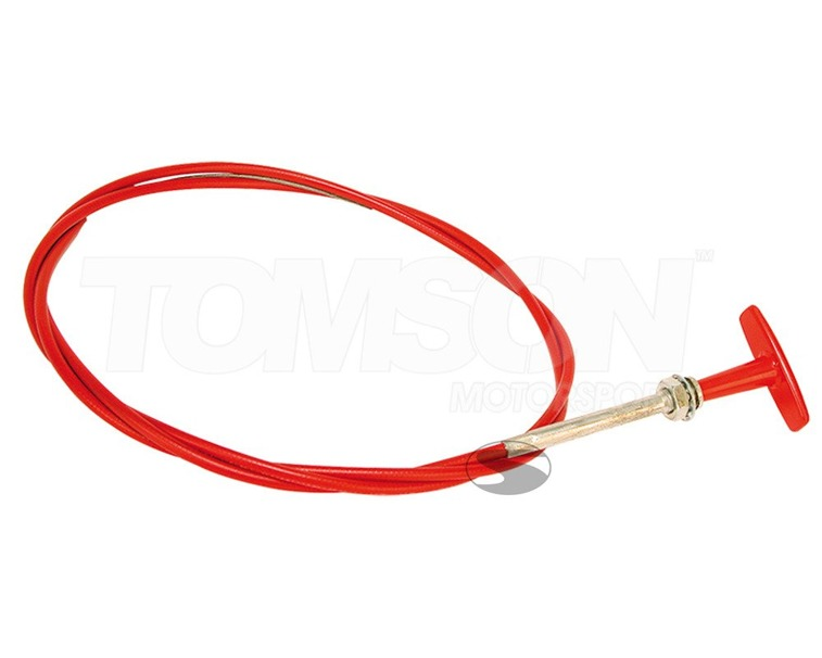 Pull cable for mechanically operated systems (short)