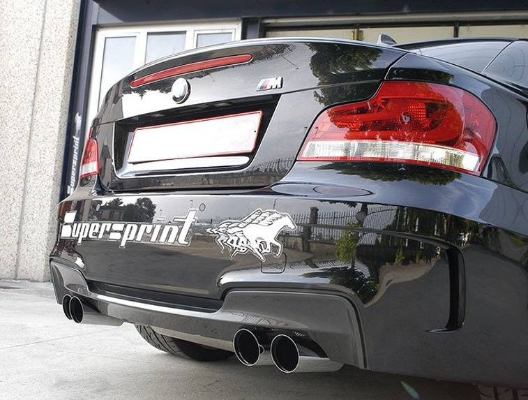 Supersprint 985913 centre Y-pipe BMW 1M E82 2011-