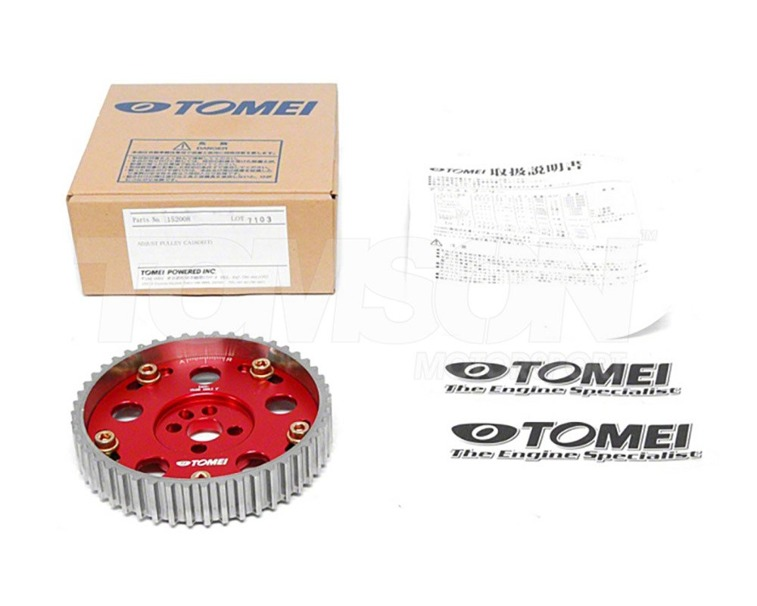 Tomei 152010 camshaft pulley gear sprocket Nissan Skyline RB20, RB25, RB26 (exhaust)