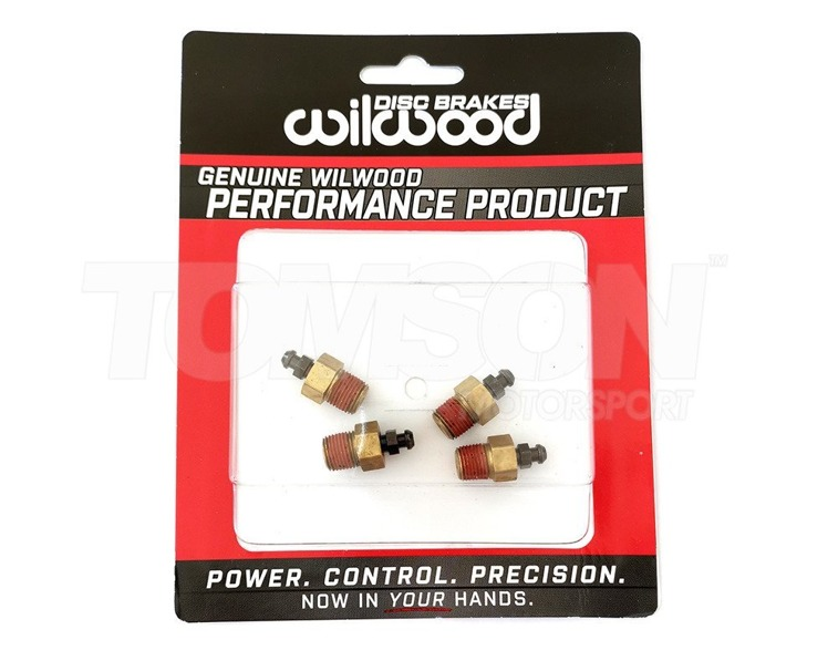 Wilwood 220-6069 bleed screw kit M10 x 1 (4 pack)