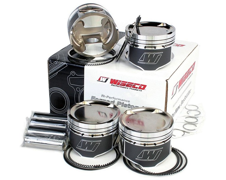 Wiseco KE222M83 forged pistons Audi S2, RS2 2.2 20v 5cyl. (3B, RR, AAN, ABY, ADU) 83.00 mm CR 7.2:1